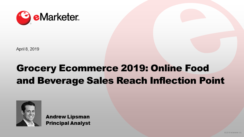 Grocery Ecommerce 2019 - eMarketer Trends, Forecasts & Statistics