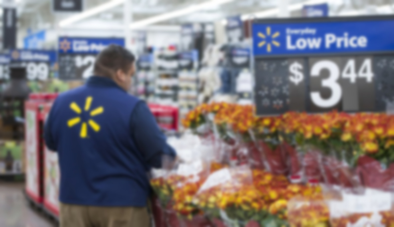 Bad News Doesn't Rattle Walmart Shoppers