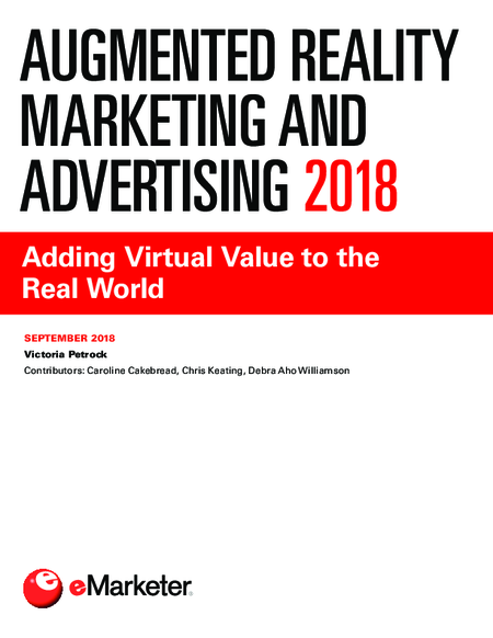 Augmented Reality Marketing and Advertising 2018 - eMarketer Trends